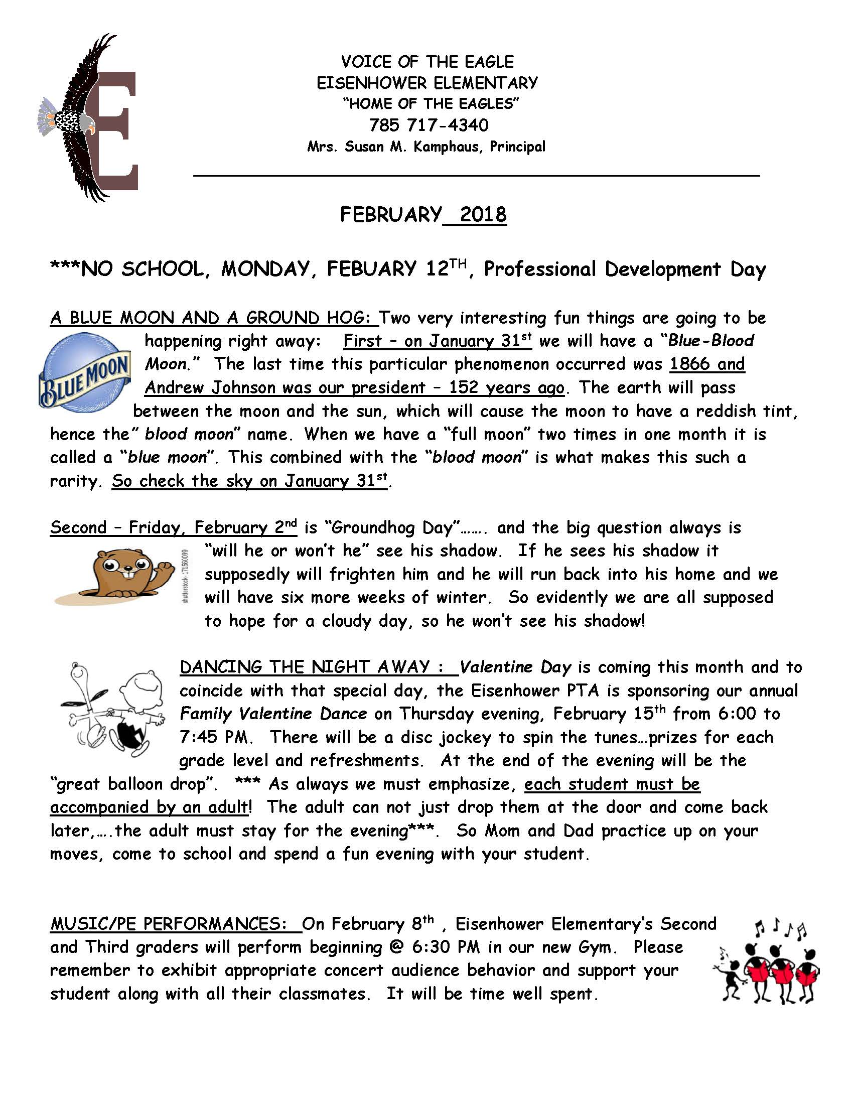 February 2018 eNewsletter Page 1